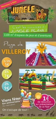 Création de flyer jungle playa